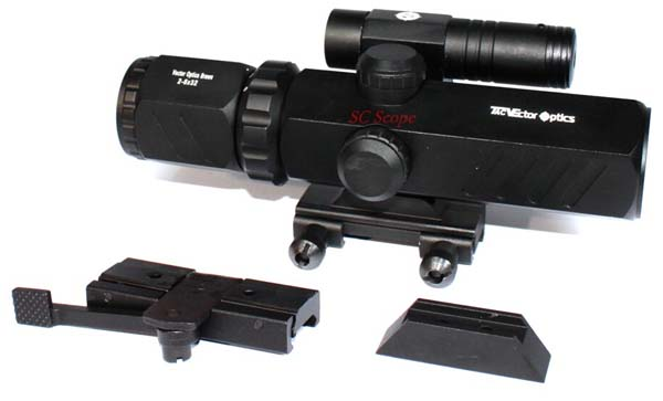 Entfernungsmesser Jagd Beleuchtet : Vector optics brawn 2 6x32 zielfernrohr jagdprodukt mit rot grün