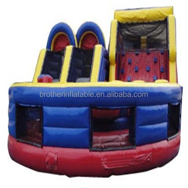 2016 Hot sale animal theme outdoor playground commercial bounce house