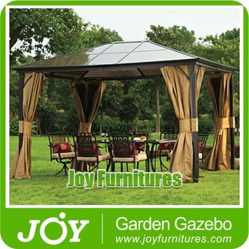 Patio Outdoor PC Roof Gazebo