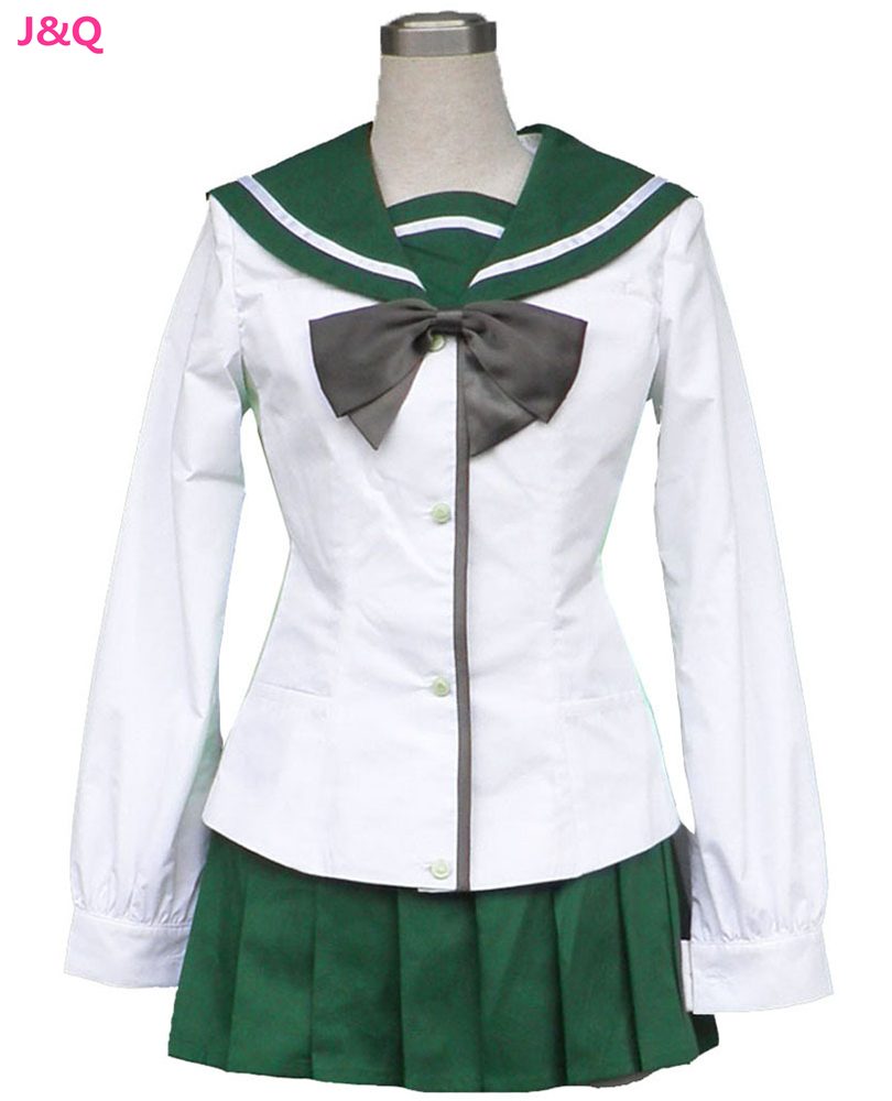 Compra verde uniforme escolar online al por mayor de China