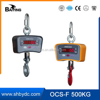 ocsf plastic housing hanging scale electronic crane scale 100kg500kg - Hanging Scale