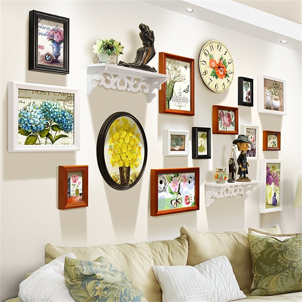 Cheap Family Time Photo Frame Wall Clock, find Family Time Photo ...