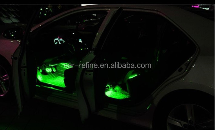 For Bmw E36 E46 F10 F30 Rgb Led Interior Light Decorative Atmosphere