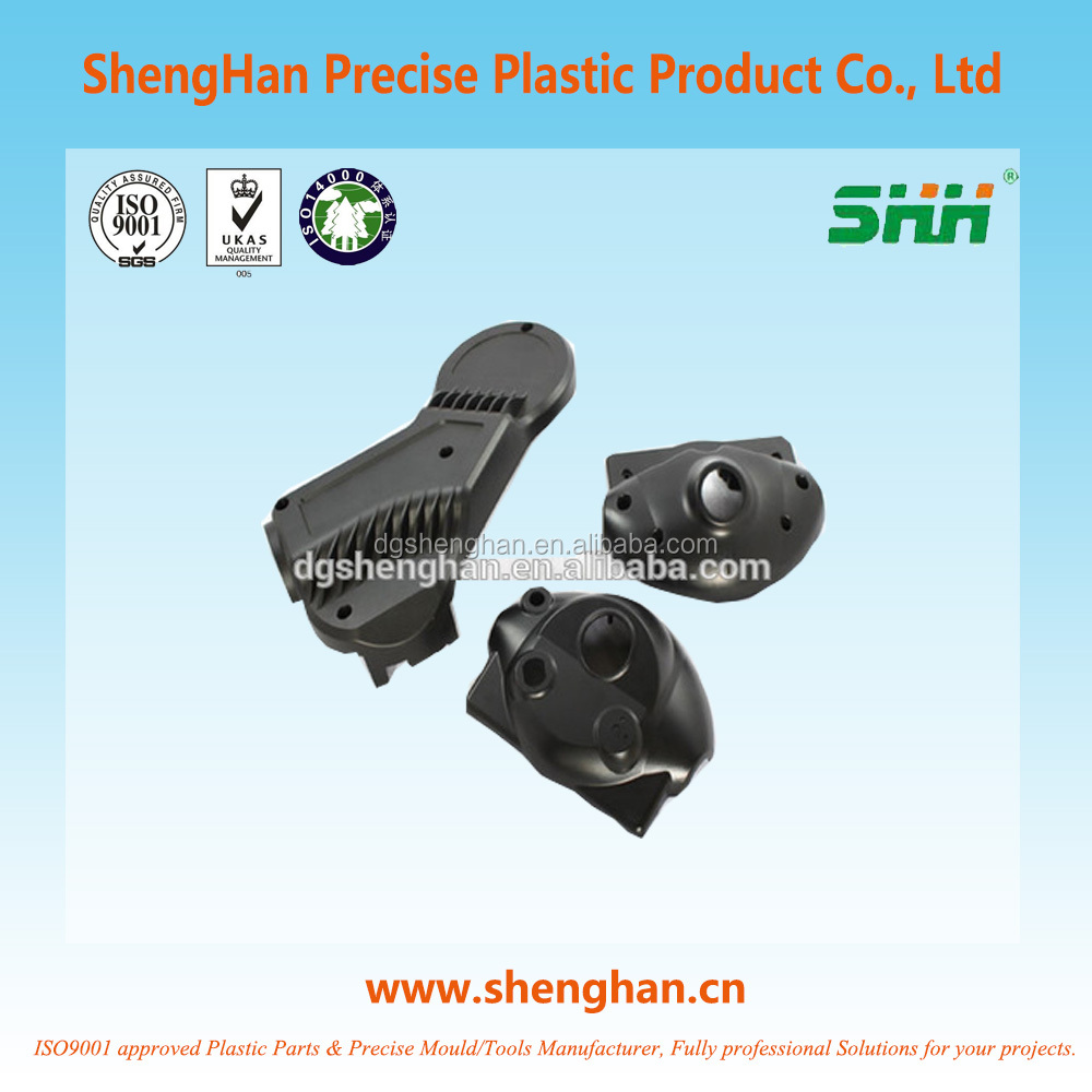Factory Supply Black ABS Auto components