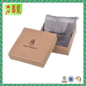 Kraft paper lid and bottom box for belt with Non-woven bag