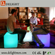 waterproof led cube chair lighting/ led cube seat lighting/ led plastic cube