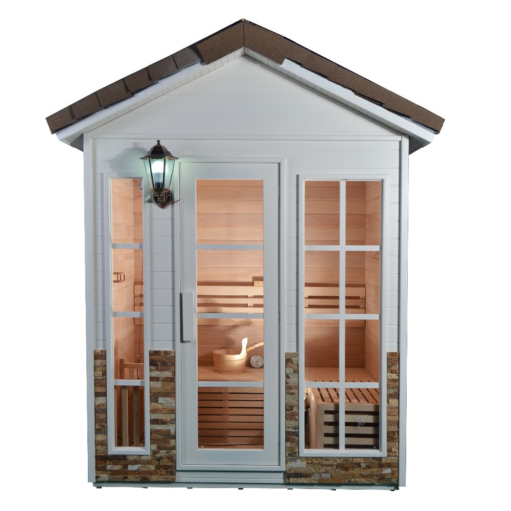 how to build a steam sauna outdoor