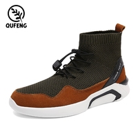 New style high heel socks sport basketball shoes