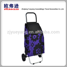 YY-40F06 Wholesale Vegetable Folding Shopping Trolley Bag
