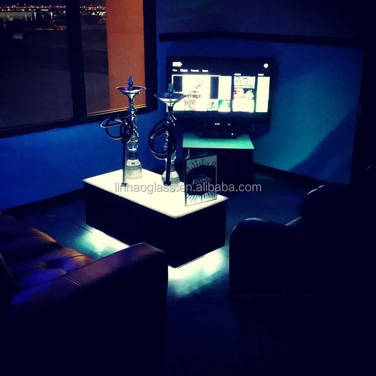 Delightful Led Hookah Lounge Furniture, Shisha Hookah Table