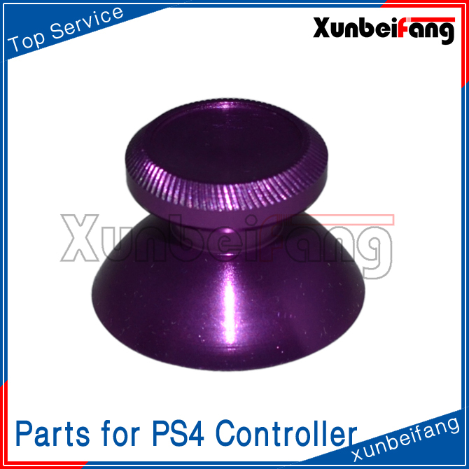 Parts Aluminum Joystick Thumb Stick for PS4 Controller Purple