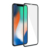 Dmax in shock anti dust 3D 9H 0.33mm HD tempered glass screen protector for iPhone X