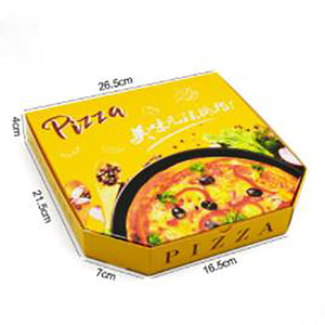 carboard pizza box OEM for your size