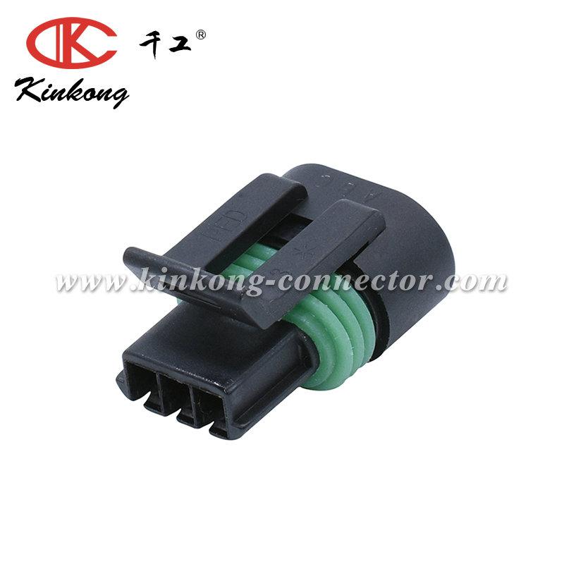 3 Pin Sealed Delphi Gm Auto Sensor Connectors Electrical Housing Plug  12162182 12162185 - Buy 3 Pin Delphi Connector,Electrical Automotive  Connector