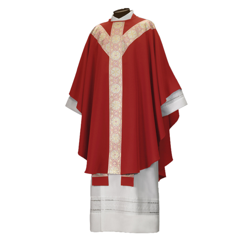 New Catholic Golden Red Chasuble & Stole Priest Vestments - Buy Vestments,Priest  Vestments,Golden Priest Vestments Product on Alibaba.com