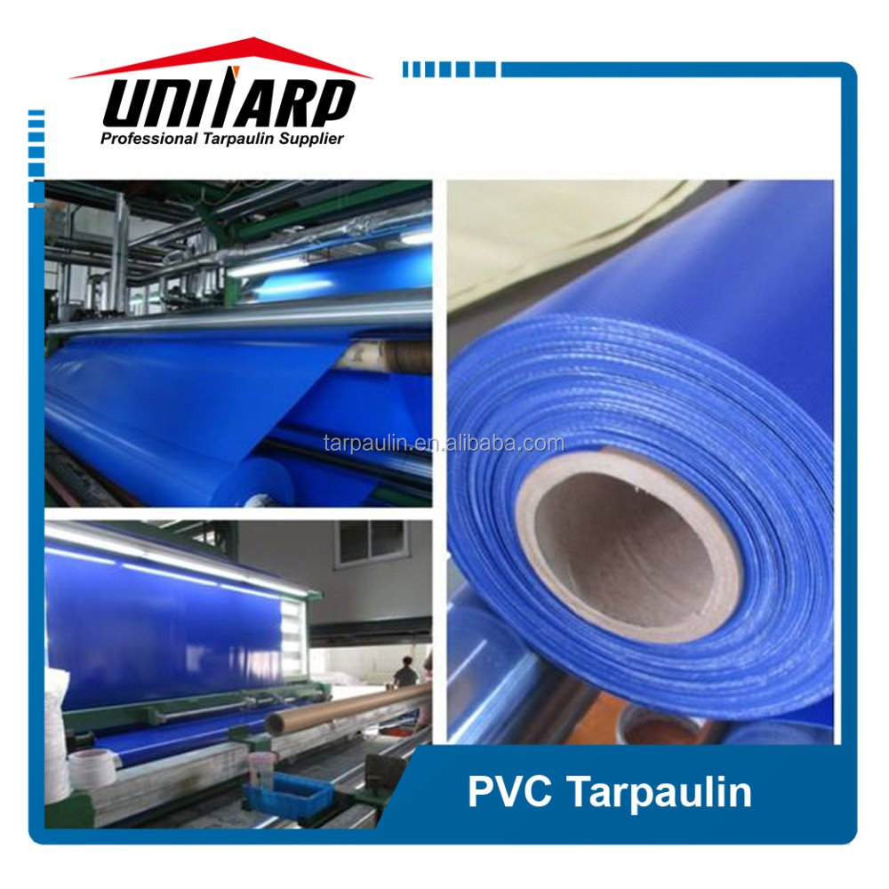 670gsm PVC tarpaulin water and chemical resistant fire retardant