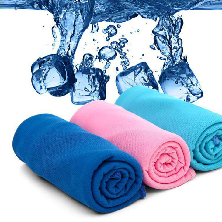 Sports Towel Sweat: Creative Cold Towel Exercise Sweat Summer Ice Towel Sports