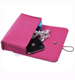 Small Pouch Pink Storage Case,Felt Sleeve For Cellphone,Accessories