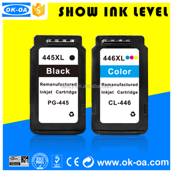 Black Friday special price for printer ink cartridge for Canon PG-445 pg445 cl446 with reset chip