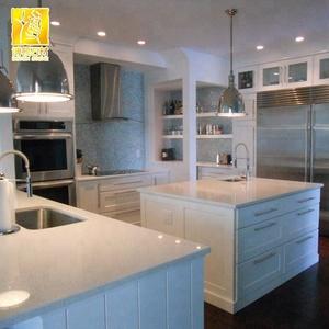 Artificial White Quartz Slate Countertops From Yunfu