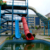 Fiberglass swimming pool water park slides tubes for sale