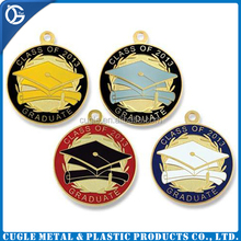 Fast delivery and factory price academic medal with ribbon