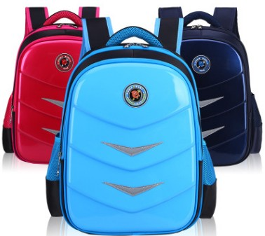 Popular stylish widening release and reflective design waterproof pu backpack