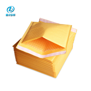 Customized Sizes Kraft A3 A4 A5 Padded Bubble Mailer Bags / Recycled Paper Padded Envelope