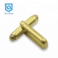Hot sale high quality Hardware fittings simple brass cufflink back