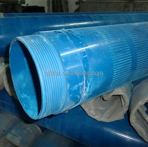 factory high pressure colored water filter slotted pvc pipe sleeve