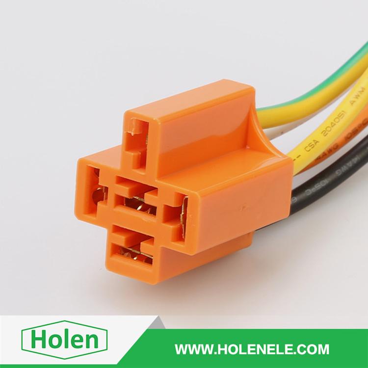 12v 30 40a 5 Pins Automotive Relay Socket