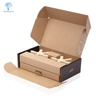 Custom 20 x 8 x 4 foldable toy cardboard kraft shipping box