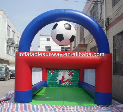 outdoor inflatable football soccer goal
