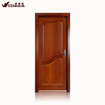 2015 New Product Interior Door Bathroom China Supplier Wood Panel Design