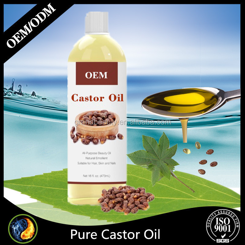 Organic black Castor Oil For Hair With Numerous Skin Benefits 16 Oz