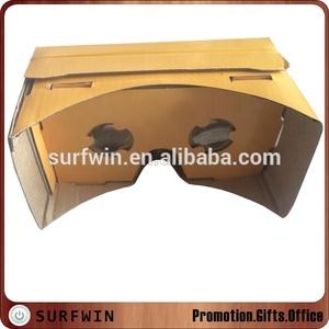 Hot Selling DIY google vr V1 0 google cardboard v1 virtual reality  cardboard 1 0 3d vr glasses 1 0