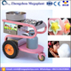 Mobile big wheels Gas heating Flower cotton candy floss making vending machine price