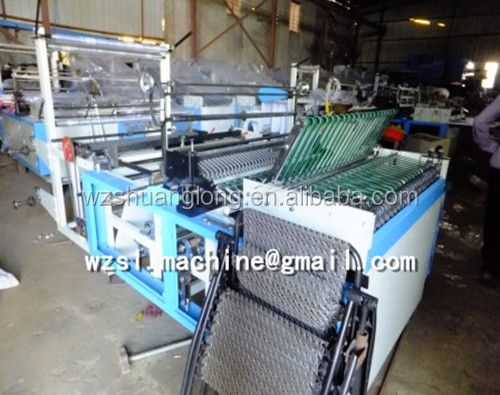 Full automatic control High speed plastic express courier bag air mailer bagmaking machine