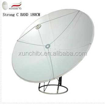 1.8m Strong C Band Satellite Mesh Dish Antenna