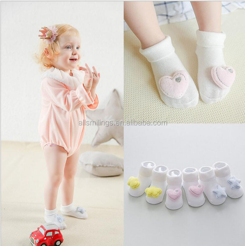 soft touch thermal baby socks,	pure color italian baby socks,custom made baby socks