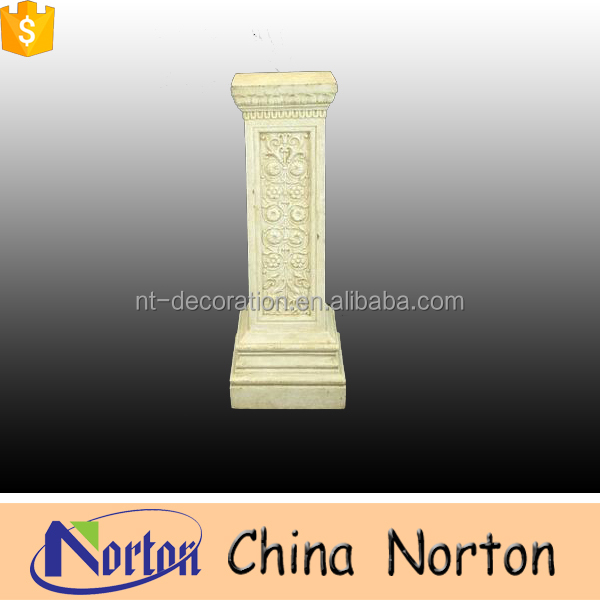 Natural stone roman square pillar design NTMF-C329A