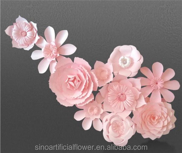 New design wholesale artificial paper flowers wall backdrop wedding new design wholesale artificial paper flowers wall backdrop wedding decoration 9g mightylinksfo