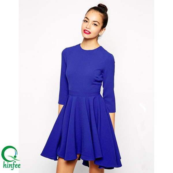 Simple Dress with Sleeves