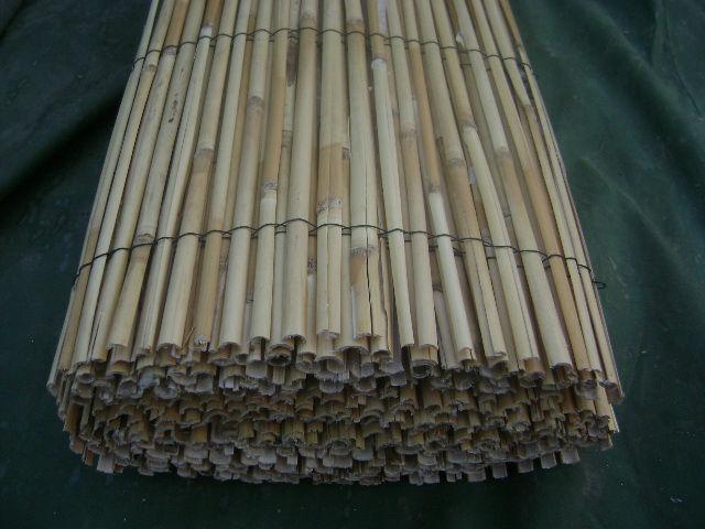 Bamboe reed slat hek split bamboe reed hek hekwerk trellis en poorten product id 1217298023 - Bamboe hek ...