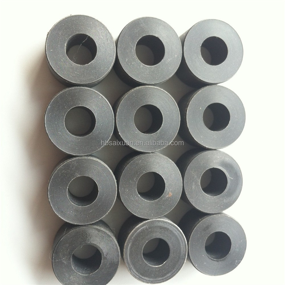 glass filled black ptfe nylon gasket/ spacer/ washer