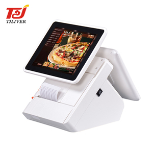 Guangzhou restaurant cash register android dual screen pos terminal machine