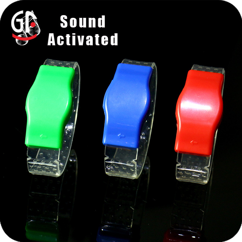 Cheap Item To Sale Party Favor Music Activated Led Bracelet