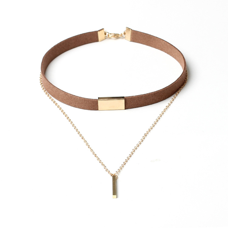 Zhongzhe Jewelry Factory Top Sell Products 2017 Of Leather Choker Necklace