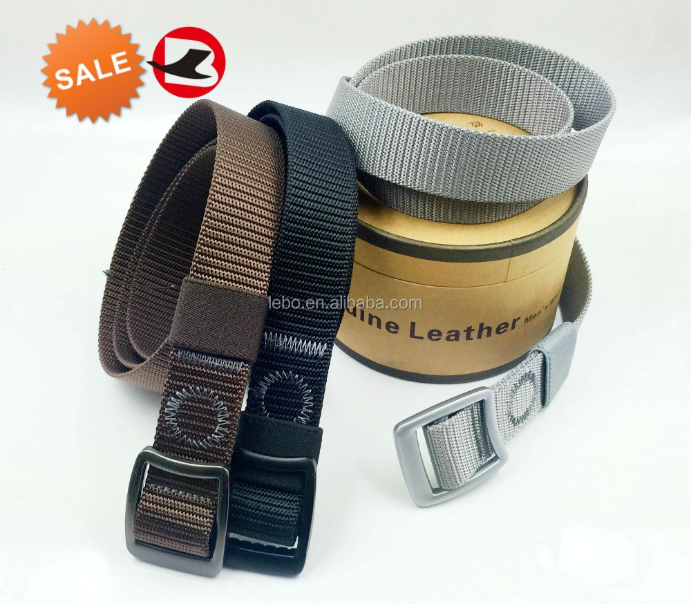 High quality nylon army belts for men customized hot sale