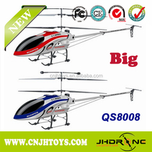 Biggest Helicopter QS8008,168CM Length 3.5 Channel helicopter with gyro and light